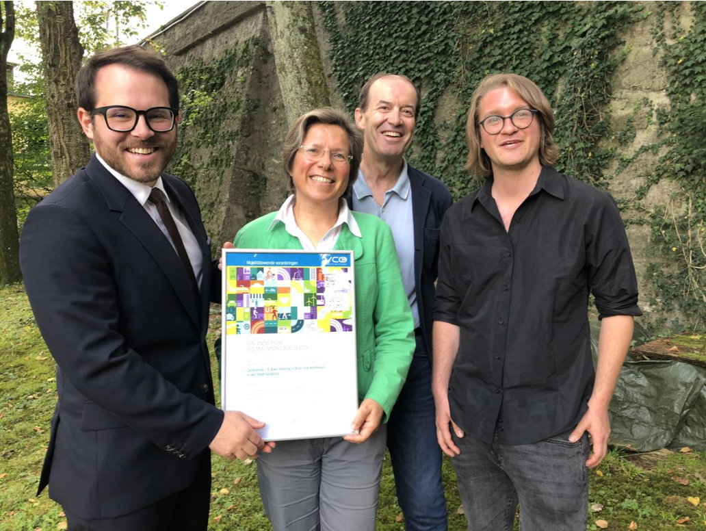 Verkehrsclub Österreich: MB als vorbildhaftes Projekt