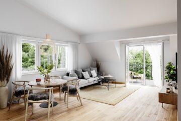 Sonnige 2 Zimmer Wohnung- optimal für Paare, 5082 Grödig, Dachgeschosswohnung