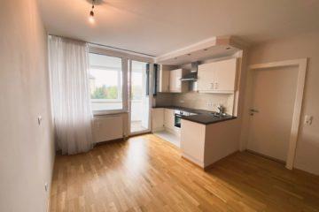 Stadtblick im Grünen – lichtdurchflutete 2-Zimmer Wohnung mit Loggia, 5020 Salzburg, Etagenwohnung