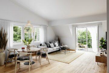 Raumwunder auf 54m² – 2-Zimmer Wohnung, 5082 Grödig, Dachgeschosswohnung