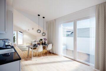 Wohlfühlen – 3-Zimmer Dachgeschoßwohnung, 5211 Lengau, Dachgeschosswohnung